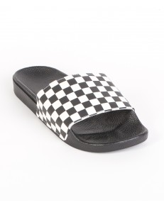 Klapki Vans SLIDE-ON SANDALS (Checkerboard) Black/White