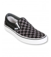 Vans U CLASSIC SLIP-ON Black/Pewter Checkerboard