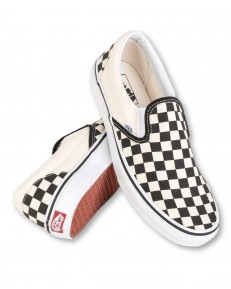 Vans U CLASSIC SLIP-ON Black/White Checkerboard/White