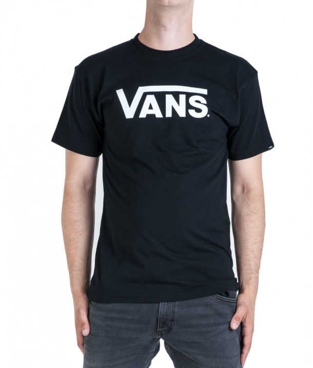 T-shirt Vans CLASSIC Black/White V00GGGY28