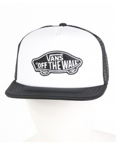 Czapka Vans CLASSIC PATCH TRUCKER White/Black