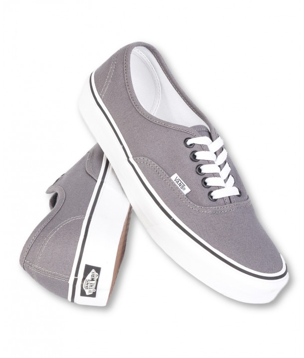 Vans AUTHENTIC Pewter/Black V00JRAPBQ