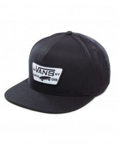 Czapka Vans FULL PATCH SNAPBACK True Black