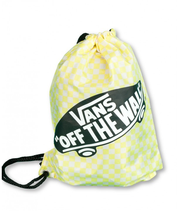 Vans BENCHED BAG Lemon Tonic Checkerboard