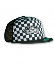 Vans CLASSIC PATCH TRUCKER PLUS Black/White Checkerboard