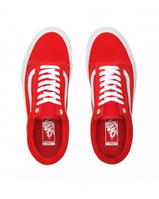 Vans OLD SKOOL PRO (Suede) Red/White