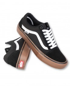 Buty Vans OLD SKOOL PRO Black/White/Medium Gum