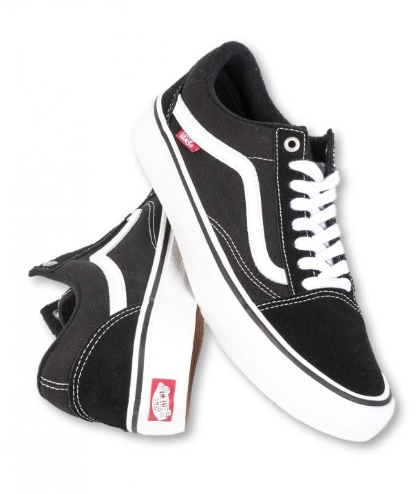 Vans OLD SKOOL PRO Black/White V00ZD4Y28