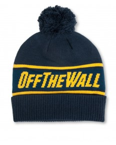Vans OFF THE WALL POM BEANIE Dress Blues/Sulphur