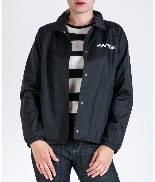 Vans THANKS COACH JACKET Black VA2YWFBLK