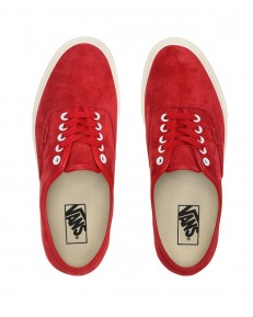 Vans AUTHENTIC (Pig Suede) Chili Pepper/True White