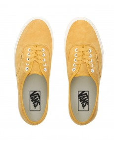 Vans AUTHENTIC (Pig Suede) Honey Gold/True White