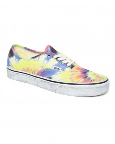 Vans AUTHENTIC (Washed) Tie Dye/True White