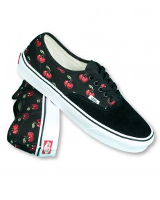 Vans AUTHENTIC (Cherries) Black