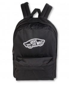 Zestaw: Plecak Vans REALM Black + Czapka Vans BEANIE MILFORD Heather Grey