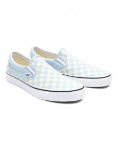 Buty Vans CLASSIC SLIP-ON (Checkerboard) Ballad Blue/True White