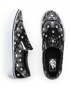 Buty Vans CLASSIC SLIP-ON (Bandana) Black/True White