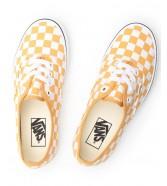 Buty Vans AUTHENTIC (Checkerboard) Golden Aspen/True White