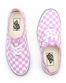 Vans AUTHENTIC (Checkerboard) Orchid/True White