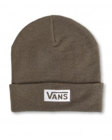 Czapka Vans BEANIE BREAKING CURFEW Grape Leaf/White