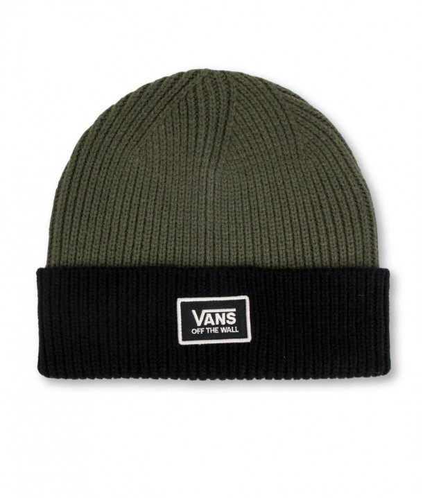 Vans BEANIE FALCON Grape Leaf/Black Colorblock VA34GWT7D