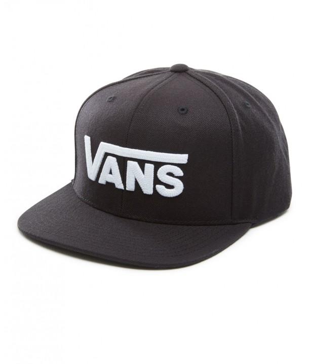 Czapka Vans DROP V II SNAPBACK Black/White
