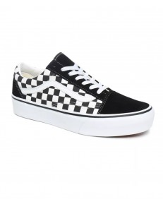 Vans OLD SKOOL PLATFOR (Checkerboard) Black/True White