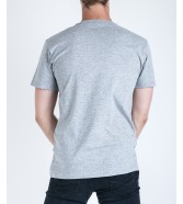 Vans LEFT CHEST LOGO TEE Athletic Heathe