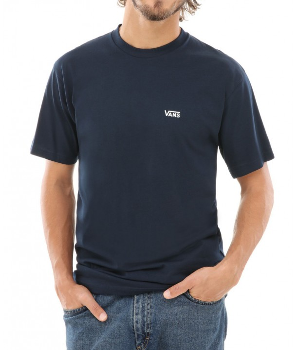 Vans LEFT CHEST LOGO Navy/White