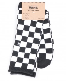 Vans Socks CHECKEBOARD CREW Black/White