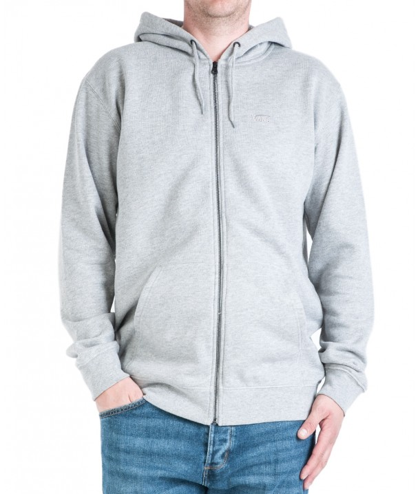 Vans BASIC ZIP HOODIE Cement Heather VA3HQ302F