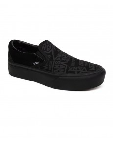 Vans CLASSIC SLIP-ON PLATFORM (Vans 66) Black