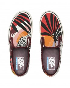 Vans SLIP-ON (Palm Floral) Port Royale/Marshmallow