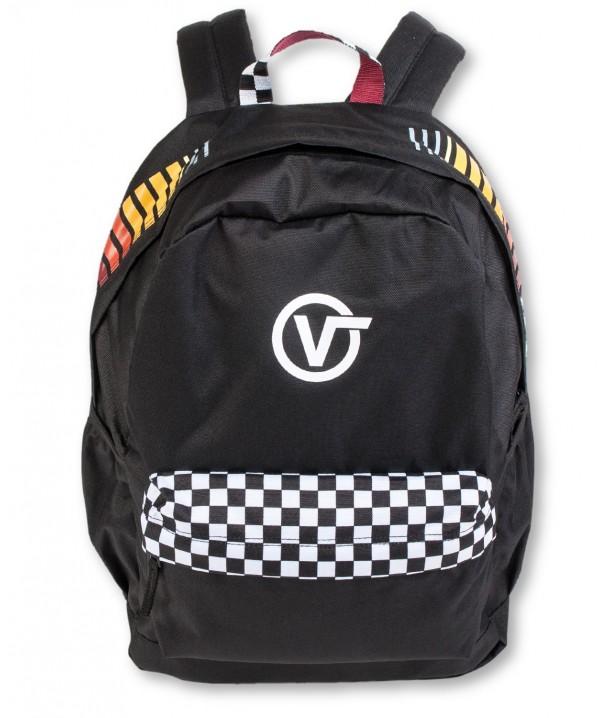 Vans SPORTY REALM PLUS BACKPACK Black/Final Lap VA3PBITV8