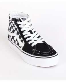 Buty Vans SK8-HI PLATFORM 2.0 Checkerboard/True White