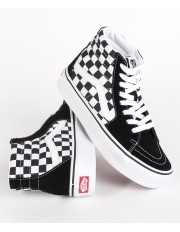 Vans SK8-HI PLATFORM 2.0 Checkerboard/True White