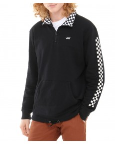Vans VERSA QUARTER ZIP Black/Checkerboard