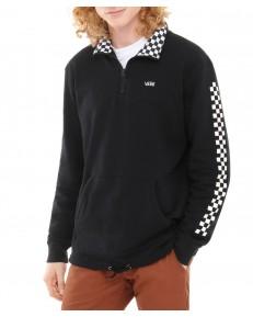 Vans VERSA QUARTER ZIP Black/Checkerboard