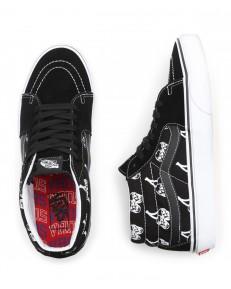 Buty Vans SK8-MID (New Varsity) Black/True White