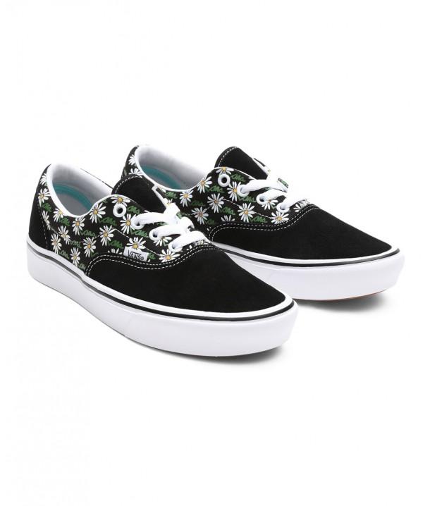 Vans COMFYCUSH ERA (Scribble Flower) Daisy/Black