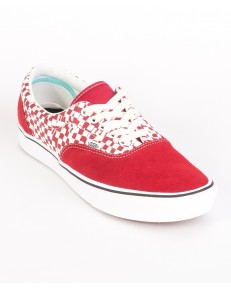 Vans COMFYCUSH ERA (Tear Check) Racing Red/True White
