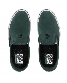 Vans COMFYCUSH SLIP-ON (Sixty Sixers) Pine Needle/White