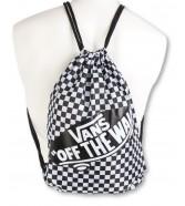 Zestaw Vans Plecak REALM Enamel Blue + Vans BENCHED BAG Black/White Chckbrd