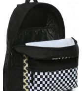 Zestaw Vans Plecak REALM CLASSIC Floral Patchwork + Worek BENCHED BAG Black/White Chckbrd