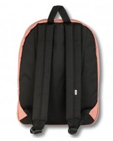 Zestaw Vans Plecak REALM Rose Dawn + Worek BENCHED BAG Black/White Checkerboard