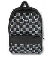 Zestaw Vans Plecak REALM CLASSIC World Check + Worek BENCHED BAG Black/White Chckbrd
