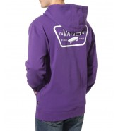 Vans FULL PATCHED PULLOVER Heliotrope/White