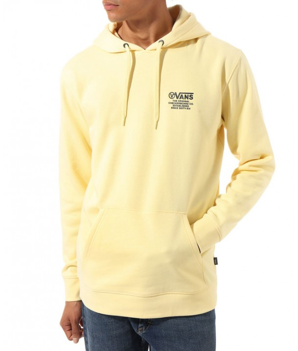 Vans DISTORT TYPE PULLOVER Double Cream