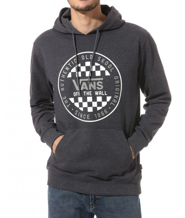 Vans OG CHECKER PULLOVER Black Heather