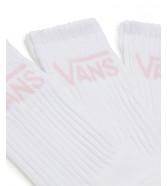 Vans 3 PACK CLASSIC CREW White/Vans Cool Pink